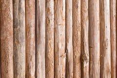 Fondo de madera del registro texturizado Fotos de archivo