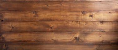 Fondo de madera del tablón de Brown Fotografía de archivo