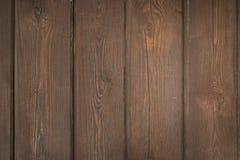 Fondo de madera del tablón de Brown Imagenes de archivo