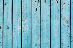 Fondo de madera del tablero azul del vintage Fotografía de archivo