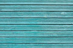 Fondo de madera del tablero azul del vintage con la pintura de la peladura Imagen de archivo