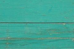 Fondo de madera del verde azul Fotografía de archivo libre de regalías