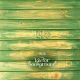 Fondo de madera del verde del tablón libre illustration