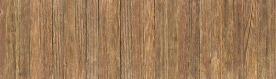 Fondo de madera del vintage, textura de madera lamentable Visión panorámica con pantalla grande fotos de archivo