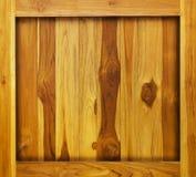 Fondo de madera en marco Imagen de archivo libre de regalías