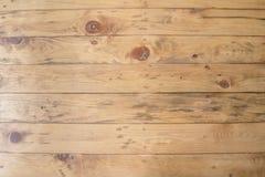 Fondo de madera grande de la textura de la pared del tablón de Brown Foto de archivo libre de regalías