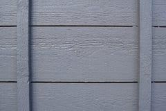 Fondo de madera gris de la textura Foto de archivo