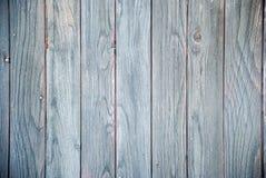 Fondo de madera gris de la textura de la pared del tablón Foto de archivo libre de regalías