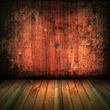 Fondo de madera interior de la textura de la casa de la vendimia fotos de archivo libres de regalías
