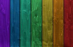Fondo de madera de la cerca fotografía de archivo