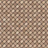 Fondo de madera de la textura de la armadura Fondo textured de madera decorativo abstracto de la cestería Modelo inconsútil Foto de archivo