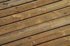 Fondo de madera de la textura del tablón de Brown fotos de archivo