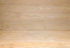 Fondo de madera ligero de la textura del pino Imagenes de archivo
