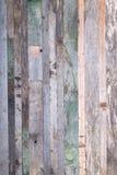Fondo de madera de los extremos de viejos tableros Fotografía de archivo