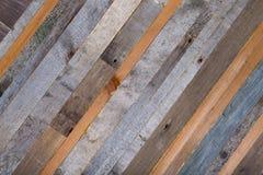 Fondo de madera de los extremos de viejos tableros Imagen de archivo