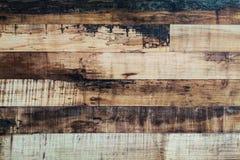 Fondo de madera manchado vintage de la pared Foto de archivo