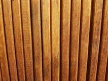 Fondo de madera marrón claro de la puerta, foto llena del marco fotografía de archivo