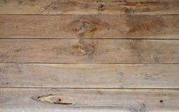 Fondo de madera marrón horizontal de la textura Imagen de archivo libre de regalías