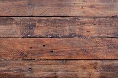 Fondo de madera marrón natural vacío Fotografía de archivo