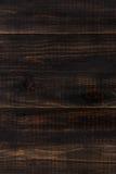 Fondo de madera de marrón oscuro Imágenes de archivo libres de regalías