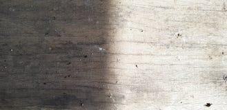 Fondo de madera a medias oscuro y ligero Imágenes de archivo libres de regalías