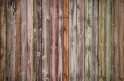 Fondo de madera multicolor creativo imagen de archivo