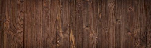 Fondo de madera natural real de la textura y de la superficie, panorama fotografía de archivo