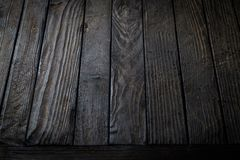 Fondo de madera negro fotos de archivo