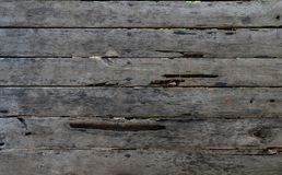 Fondo de madera negro horizontal de la textura Imagen de archivo
