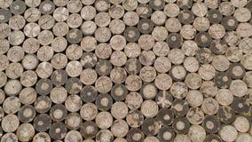 Fondo de madera o textura del mosaico viejo foto de archivo libre de regalías
