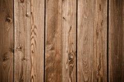 Fondo de madera oscuro de la cerca Imagen de archivo libre de regalías