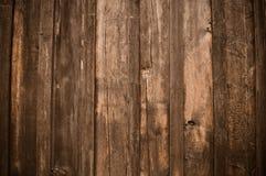 Fondo de madera oscuro rústico Fotografía de archivo libre de regalías