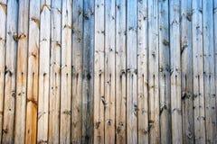 Fondo de madera pelado de la pared Imágenes de archivo libres de regalías