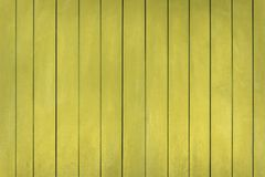 Fondo de madera pintado amarillo Imagen de archivo libre de regalías