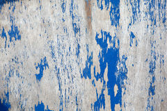 Fondo de madera pintado azul resistido (textura) Fotos de archivo