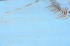 Fondo de madera pintado lamentable de la textura Foto de archivo libre de regalías