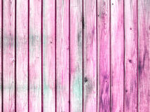 Fondo de madera pintado rosa envejecido de la textura del grunge Fotografía de archivo libre de regalías