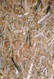 Fondo de madera presionado del panel Foto de archivo libre de regalías