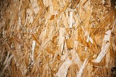 Fondo de madera presionado del panel Imagenes de archivo