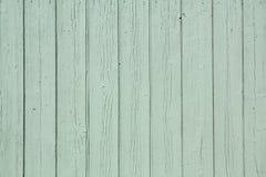 Fondo de madera rústico verde de la pared Imágenes de archivo libres de regalías