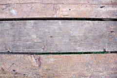 Fondo de madera realista Tonos naturales, estilo del grunge Textura de madera, cierre de Grey Plank Striped Timber Desk para arri Fotografía de archivo libre de regalías