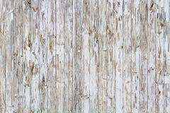 Fondo de madera resistido viejo blanco fotos de archivo libres de regalías