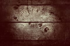 Fondo de madera retro de la textura del vintage Foto de archivo