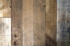 Fondo de madera retro de la textura de la pared Fotos de archivo libres de regalías