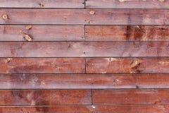 Fondo de madera rojo Fotos de archivo