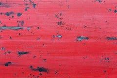 Fondo de madera rojo Foto de archivo