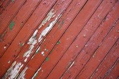 Fondo de madera rojo con textura Fotografía de archivo