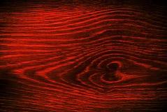 Fondo de madera rojo de la textura del modelo Foto de archivo
