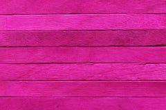 Fondo de madera rosado Fotografía de archivo