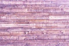Fondo de madera rosado de los tablones Textura de madera rosada Fotos de archivo libres de regalías